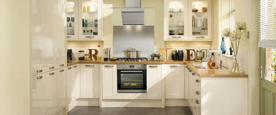 Cream Gloss Kitchen Tile Ideas Part - 31: Springmeadow Kitchens